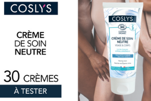 crème de soin neutre de la marque Coslys