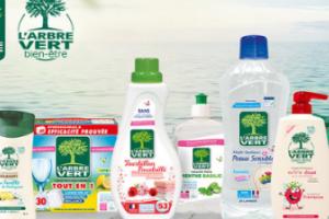 lot de produits L'Arbre Vert