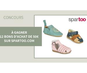 bon d'achat Spartoo de 50 euros à remporter