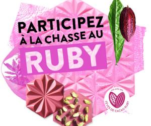 coffret Ruby Callebaut à gagner