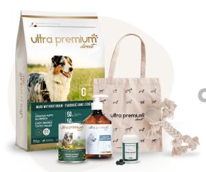 coffret de produits pour chien ou chat