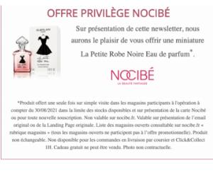 miniature de l'eau de parfum La Petite Robe Noire de GUERLAIN