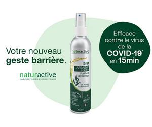 Assaini'Spray Huile essentielle BIO Naturactive