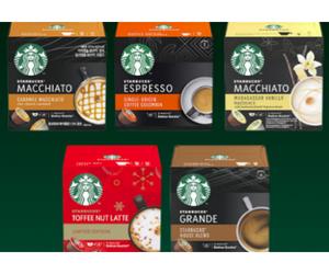 capsules de café Starbucks Dolce Gusto