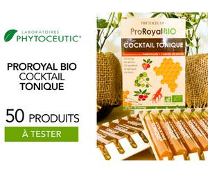 compléments Proroyal bio cocktail tonique