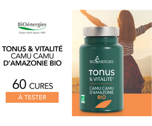 compléments Tonus & Vitalité Camu Camu BIOENERGIES