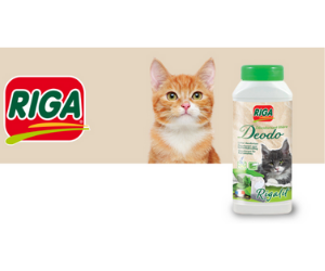désodorisant pour litière Thé Vert pour chats Rigalit Deodo