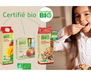 gamme de produits CARREFOUR Bio