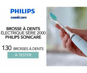brosse à dents Sonicare de Philips
