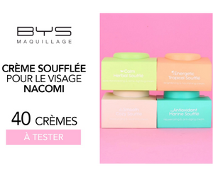 crème SOUFFLE Nacomi de Bys Maquillage