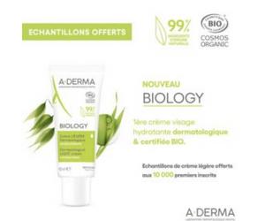 crème légère A-Derma Biology