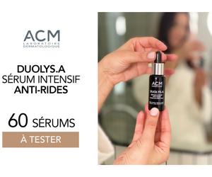 sérum anti-ride Duolys.A du Laboratoire Dermatologique ACM