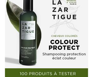 shampooing protection éclat couleur de Lazartigue